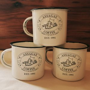 Assagay Coffee Enamel Mug