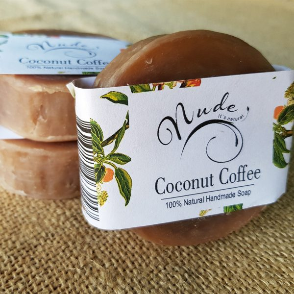 Nude Coconut Coffee Soap