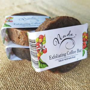 Nude Exfoliating Coffee Bar