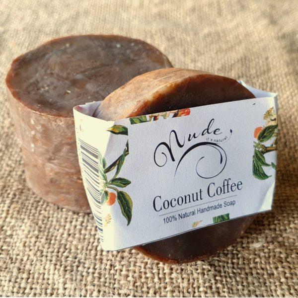 Nude Coconut Coffee Soap