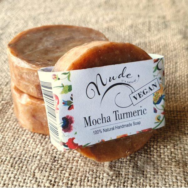 Nude Mocha Turmeric Soap